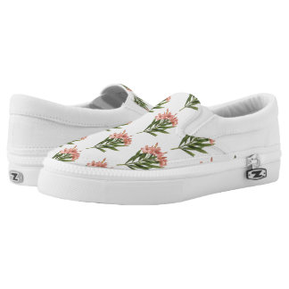 Vintage Flowers slip-on shoes 3