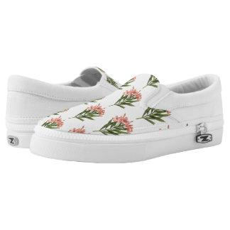Vintage Flowers slip-on shoes 3
