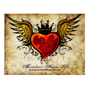 vintage heart tattoo gifts gift ideas zazzle uk rh zazzle co uk vintage sacred heart tattoo vintage sacred heart tattoo