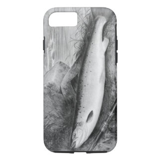 Vintage Fly Fishing art iPhone 7 Case