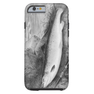Vintage Fly Fishing art Tough iPhone 6 Case