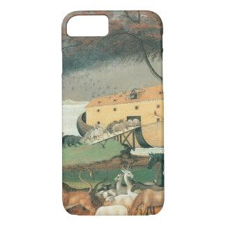 Vintage Folk Art, Noah's Ark by Edward Hicks iPhone 7 Case