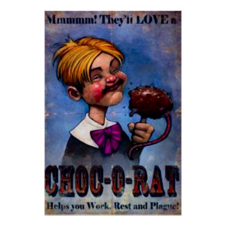 Vintage Food Advertisement Poster