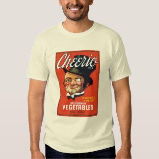 Vintage Food Crate Design Tshirts