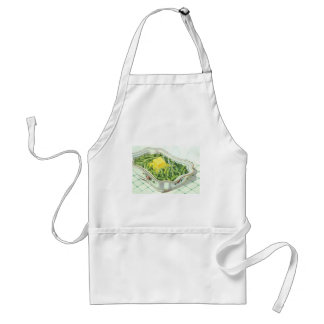 Vintage Food, Green Bean Casserole with Butter Standard Apron