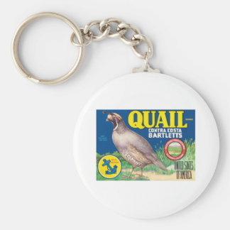 Vintage Food Product Label Key Chains