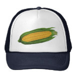 Vintage Food Vegetables; Yellow Corn on the Cob Cap