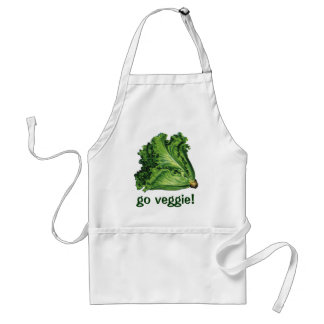 Vintage Foods, Green Leaf Lettuce Vegetables Standard Apron