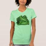 Vintage Foods, Green Leaf Lettuce Vegetables T Shirts