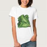 Vintage Foods, Green Leaf Lettuce Vegetables Tee Shirt