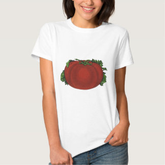 Vintage Foods, Ripe Tomato, Fruits and Vegetables Shirts