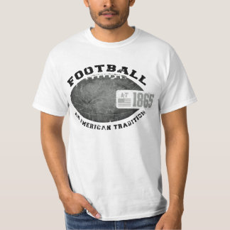 Vintage Football: American Tradition Tee Shirts