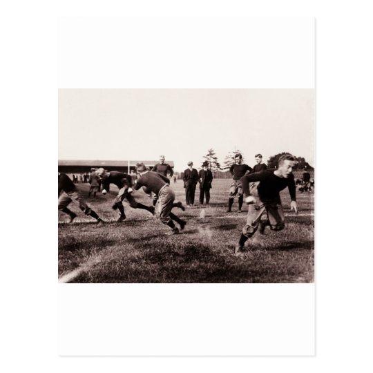 Vintage Football Game Postcard