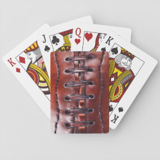 Vintage Football Gifts and Football Party Favors Playing Cards