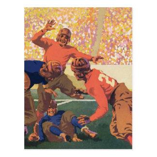 Vintage Football Postcard