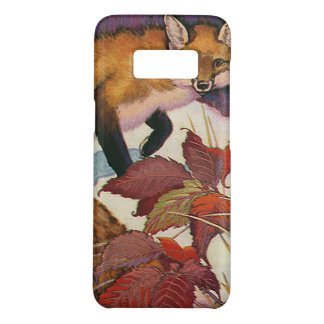 Vintage Forest Creatures Red Fox Wild Animal Case-Mate Samsung Galaxy S8 Case