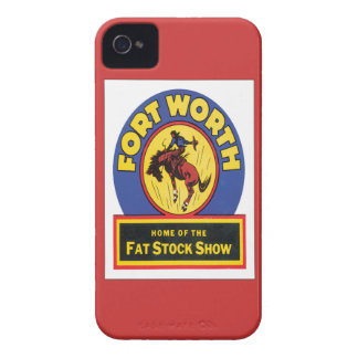 Vintage Fort Worth ,Texas Case-Mate iPhone 4 Case