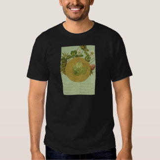Vintage Four Leaf Clover St Patrick's Day Card T-shirts