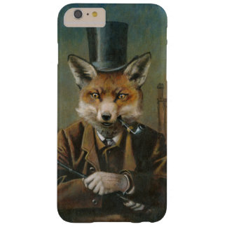 Vintage Fox In Top Hat iPhone 6 Case Barely There iPhone 6 Plus Case