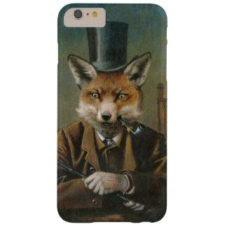 Vintage Fox In Top Hat iPhone 6 Case