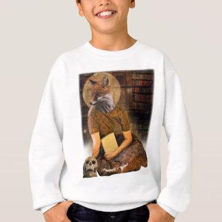Vintage Fox Lady Face Animal Sweatshirt