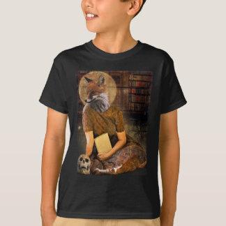 Vintage Fox Lady Face Animal T-Shirt