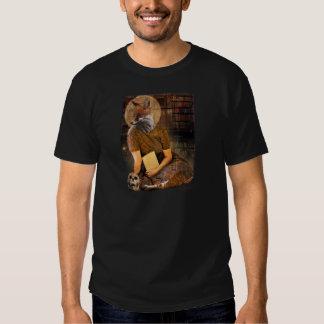 Vintage Fox Lady Face Animal Tshirt