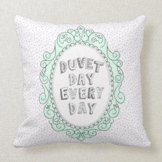 Vintage Frame Pastel Duvet Day Cushion