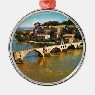Vintage France, Avignon; broken bridge Christmas Ornament