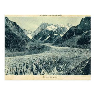 Vintage France  Chamonix Mont Blanc Post Card
