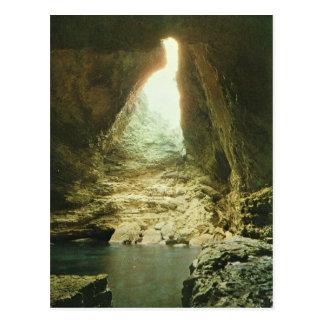 Vintage France Corsica,   Corsica, Sea grottos Postcard