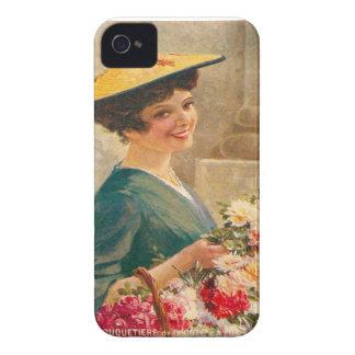 Vintage France Flower seller Cote d Azur iPhone 4 Cover