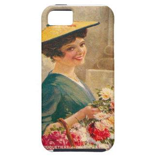 Vintage France Flower seller Cote d Azur iPhone 5 Case