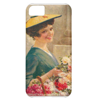 Vintage France Flower seller Cote d Azur iPhone 5C Covers