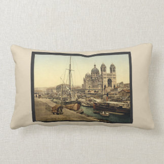 Vintage France Lumbar Cushion