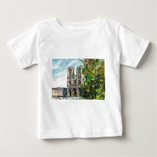 Vintage France, Notre Dame de Paris Baby T-Shirt
