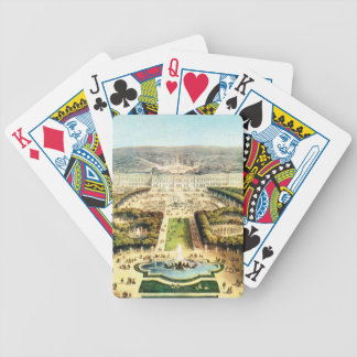 Vintage France, Palais de Versailles Bicycle Playing Cards
