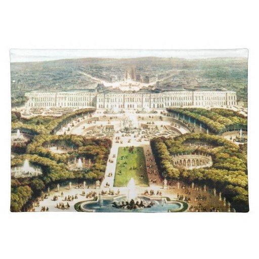 Vintage France, Palais de Versailles Placemats