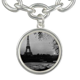 Vintage France Paris Eiffel tower sunset 1970