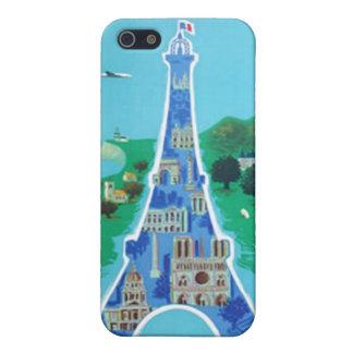 Vintage France Paris  iPhone 5 Covers
