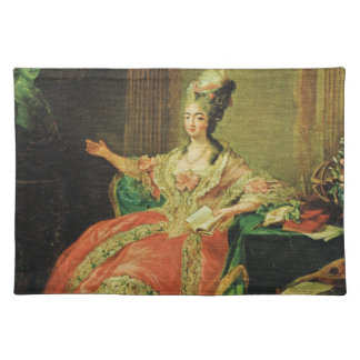 Vintage France, Regency, fashionable lady Placemat