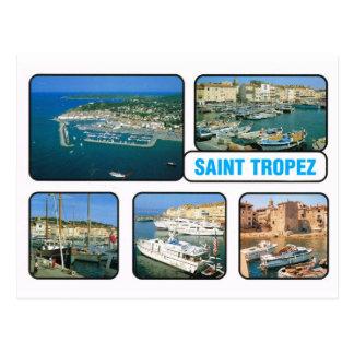 Vintage France St Tropez Postcard