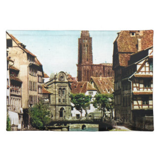 Vintage France, Strassbourg, Cathedral Place Mat