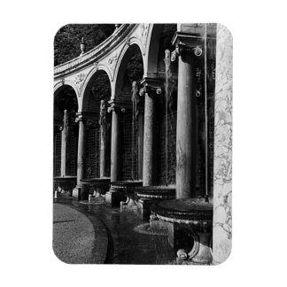 Vintage France Versailles palace Colonnade Grove Rectangular Photo Magnet