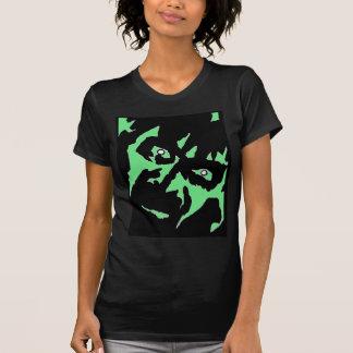 Vintage Frankenstein Monster Green Black Retro T-Shirt