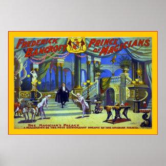 Vintage Frederick Bancroft Poster