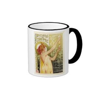 Vintage French Absinthe Advertisement Ringer Mug