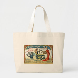 Vintage French Ad - Chapelleries1890 Bags