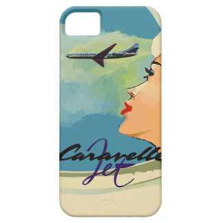 Vintage french ads (Caravelle jet) iPhone 5 Cases