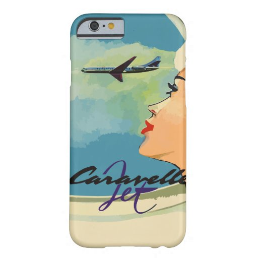 Vintage french ads (Caravelle jet) iPhone 6 Case